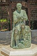 Israel, Nazareth, Statue of St. Joseph in St.Joseph's church
