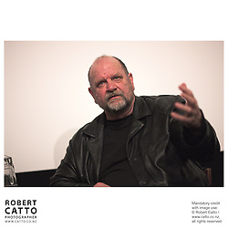 Graeme Tetley at the Panel discussion with the creators of Out Of The Blue at the Cameo @ The Paramount at the Paramount Theatre, Wellington, New Zealand.<br />
