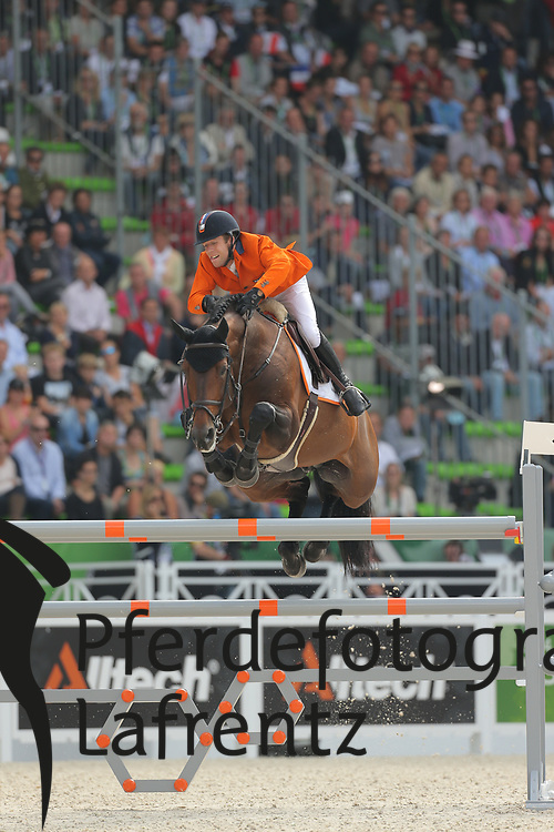van der Vleuten, Maikel, VDL Groep Verdi TN N.O.P.<br /> Normandie - WEG 2014<br /> Springen - Finale IV<br /> © www.sportfotos-lafrentz.de/ Stefan Lafrentz