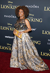 Alfre Woodard at the World premiere of 'The Lion King' held at the Dolby Theatre in Hollywood, USA on July 9, 2019.