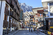 Breuil-Cervinia is an alpine resort in the Aosta Valley region of northwest Italy