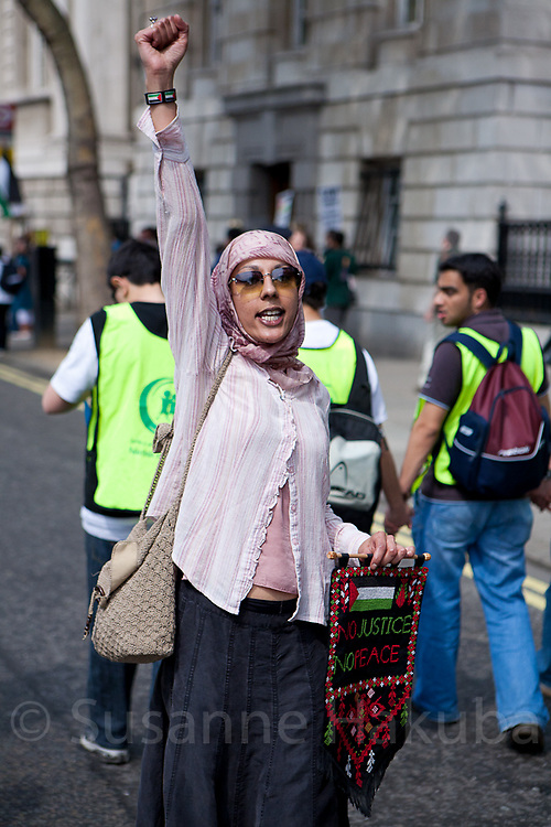60 year anniversary of Nakba, London, UK