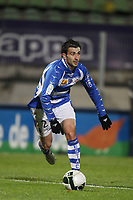 FOOTBALL - FRENCH CHAMPIONSHIP 2010/2011 - L2 - LE MANS FC v ES TROYES - 06/12/2010 - PHOTO ERIC BRETAGNON / DPPI - MATTHIEU SAUNIER (TROYES)