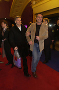 """James Fleet and Greg Wise, UK Premiere of """"A Cock And Bull Story"""" at Cineworld Cinemas, Haymarket  AND AFTERWARDS AT SOHO HOUSE.  The film by director Michael Winterbottom is a literary adaptation of """"The Life And Opinions Of Tristram Shandy, GENTLEMAN. 16 January 2006. Gentleman ONE TIME USE ONLY - DO NOT ARCHIVE  © Copyright Photograph by Dafydd Jones 66 Stockwell Park Rd. London SW9 0DA Tel 020 7733 0108 www.dafjones.com"""