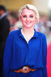 © Licensed to London News Pictures. 31/03/2012. Watford, England. Evanna Lynch attends The Warner Bros. Studio Tour London - The Making of Harry Potter ** GRAND OPENING at Leavesden Studios near Watford Hertfordshire  Photo credit : ALAN ROXBOROUGH/LNP