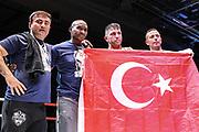 Boxen: WIBF-, GBU-, WBU-Weltmeisterschaft, Fliegengewicht, Susi Kentikian (GER) - Nevenka Mikulic (CRO), Hamburg, 30.07.2016<br /> <br /> © Torsten Helmke