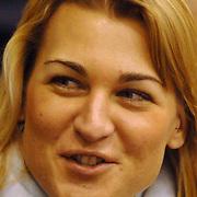NLD/Heerenveen/20060122 - WK Sprint 2006, 2de 500 meter heren, Barbara de Loor