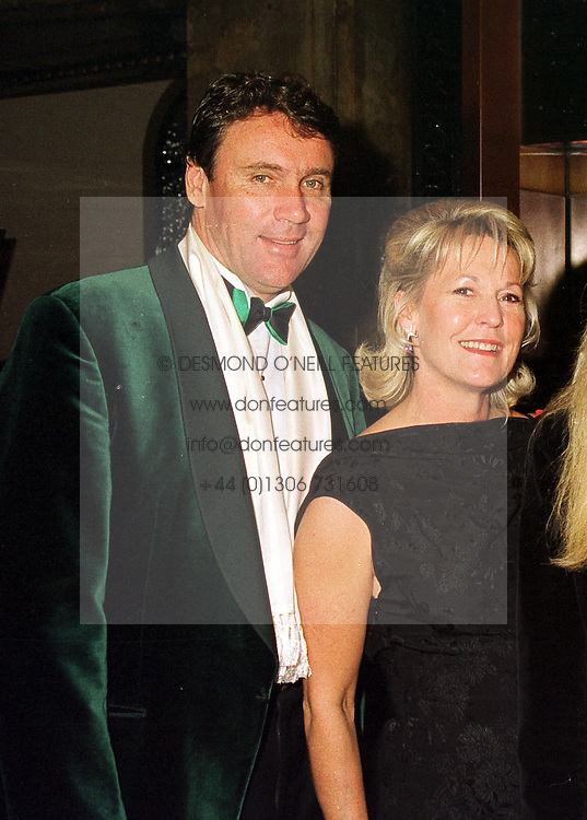 Drug multi-millionaire  MR & MRS IAN GOWRIE-SMITH, at a dinner in London on 6th October 1998.MKN 32 2olo
