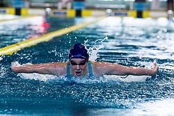 Sara GLOBOKAR of Slovenia during 400m Medely at  Absolutno prvenstvo Slovenije in MM Kranj 2019 on June 14, 2019 in Kranj, Slovenia. Photo by Peter Podobnik / Sportida