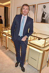 Laurent Feniou Managing Director of Cartier, at reopening of the Cartier Boutique, New Bond Street, London, England. 31 January 2019. <br /> <br /> ***For fees please contact us prior to publication***
