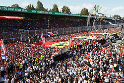 September 3, 2017 - Monza, Italy - Motorsports: FIA Formula One World Championship 2017, Grand Prix of Italy, ..Fans  (Credit Image: © Hoch Zwei via ZUMA Wire)