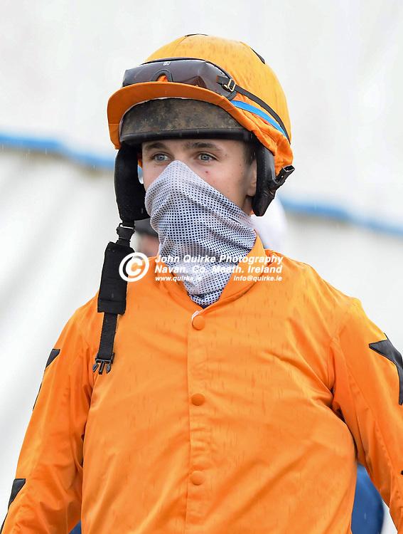 Jockey, Paddy O'Hanlon,  at Bellewstown Races.<br /> <br /> Photo: GERRY SHANAHAN-WWW.QUIRKE.IE<br /> <br /> 03-07-2021