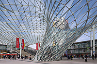 Съемка архитектурных элементов на выставке iSaloni, Милан.