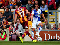 Lee Brown of Bristol Rovers takes on Alex Gilliead of Bradford City - Mandatory by-line: Robbie Stephenson/JMP - 02/09/2017 - FOOTBALL - Northern Commercials Stadium - Bradford, England - Bradford City v Bristol Rovers - Sky Bet League One