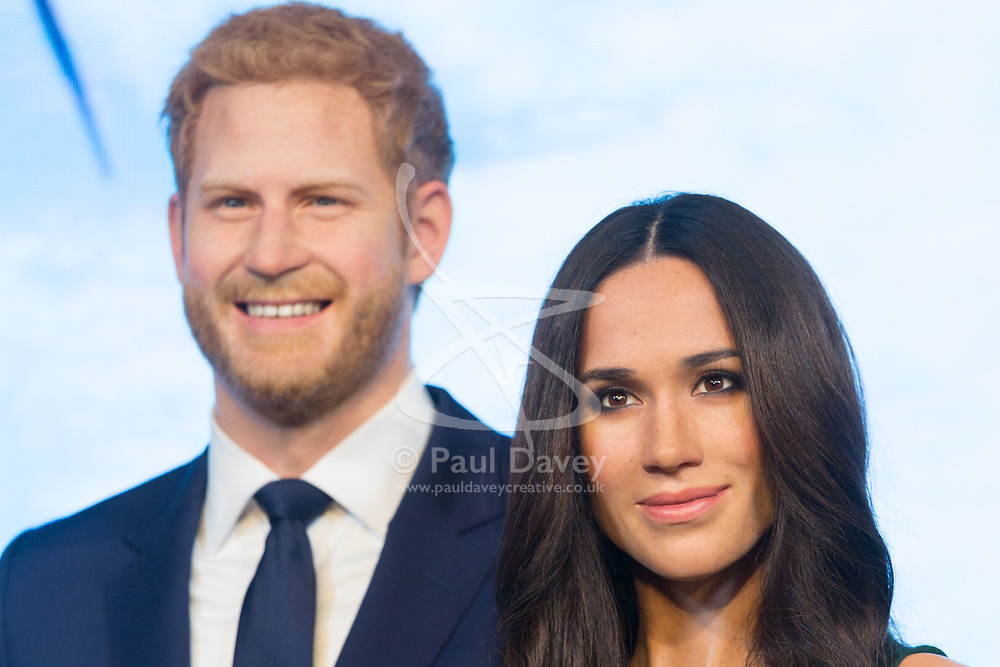 Madame Tussauds unveils a waxwork of Megan Markle at the popular London tourist attraction. London, May 09 2018.