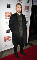 Neil Jones at the Message in a Bottle press night , Peacock Theatre, London