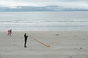 06/09/2016 REPRO FREE:  Sophie and Olivia Currie from Renmore play as the alphorn rings out over Galway Bay as Stefan Kaiser heralds Music for Galway's new International Concert Season 'Aimez-vous Brahms?' opening on September 28th and running until May 18th including main concert series, Lunchtime series and Midwinter Festival.  Photo:Andrew Downes, XPOSURE.