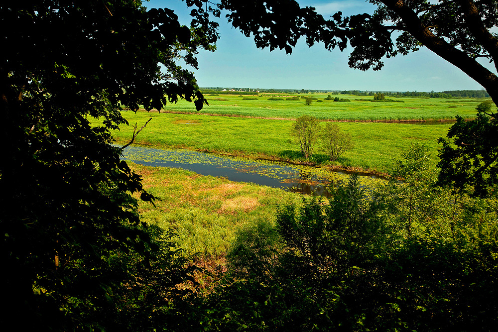 Rozlewiska Biebrzy, Polska<br /> Biebrza floodplains, Poland