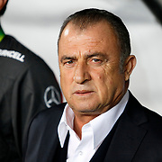 Turkey's coach Fatih Terim during their a international friendly soccer match Turkey betwen Brazil at Sukru Saracoglu Arena in istanbul November 12, 2014. Photo by Aykut AKICI/TURKPIX