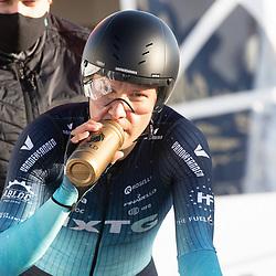 11-03-2021: Wielrennen: Healthy Ageing Tour: Lauwersoog<br />Mylene de Zoete