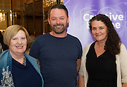 To celebrate 25 Years of MEDIA, The Creative Europe MEDIA Office Galway held theCreative EuropeMEDIA Co-Production Dinnerin Hotel Meyrickon Thursday the 7th of June as part of TheGalway Film Fleadh.<br />  <br /> At the event was  Eibhlin Ní Mhunghaile, The Creative Europe MEDIA , Stephen Kelleher Bankside Films and Moe Honan Moetion Films The networking dinner gives Fleadh goersprivileged access to the world's leading film Financiers and a fantasticopportunity to network with European Producers and Film Fair Financiers. Creative Europe MEDIA Office Galway offers comprehensive information on the European Union's Creative Europe Programme, offering advice, support and information on Creative Europe funding support for the audiovisual industries including film, television and games. The regional office is also available to respond to queries by phone or email. In addition to providing one-to-one advice sessions and events throughout the year. <br /> <br /> For further information contact Eibhlín Ní Mhunghaile on 091 770728 or via email oneibhlin@creativeeuropeireland.eu<br />  Photo: Andrew Downes XPOSURE