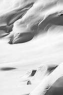 Tief verschneite Felsen und Flanken am Sur Carungas, Savognin, Graubünden, Schweiz / <br /> <br /> Snow-covered rocks and flanks on Sur Carungas, Savognin, Graubünden, Switzerland
