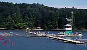Atlanta, USA. General Views, Start Area, of the Lake Lanier Course and the course installations. 1996 Olympic Rowing Regatta Lake Lanier, Georgia [Mandatory Credit Peter Spurrier/ Intersport Images]