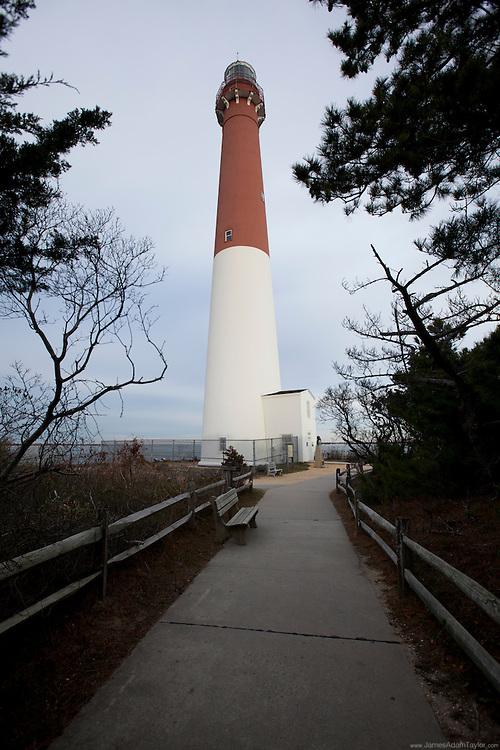 Historic Barnegate lighthouse.