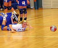 Håndball , kvinner  15  september 2004  , 4 runde NM , <br /> Tranberghallen<br /> Gjøvik og Vardal HK  v Nordstrand 2000<br /> <br /> Randi H. Gustad -Nordstrand<br /> <br /> Foto : Dagfinn Limoseth - Digitalsport