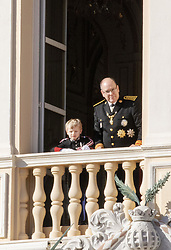 November 19, 2019, Monaco, Monaco: 19-11-2019 Monte Carlo Prince Jacques and Prince Albert II of Monaco during the Monaco national day celebrations in Monaco. (Credit Image: © face to face via ZUMA Press)
