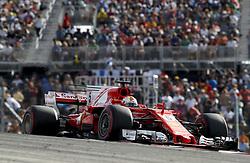 October 21, 2017 - Austin, United States of America - Motorsports: FIA Formula One World Championship 2017, Grand Prix of United States, ..#5 Sebastian Vettel (GER, Scuderia Ferrari) (Credit Image: © Hoch Zwei via ZUMA Wire)