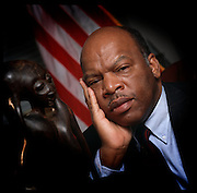 John Robert Lewis - born February 21, 1940 - is an American politician and civil rights leader. He is the U.S. Representative for Georgia's 5th congressional district, serving since 1987, and is the dean of the Georgia congressional delegation. The district includes the northern three-quarters of Atlanta.<br />