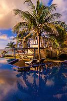 Infinity pool at Le Reve Hotel, Riviera Maya, Quintana Roo, Mexico