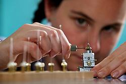 Powder Diffraction Beamline, Australian Synchrotron.  Dr Helen Maynard-Casely, Post-doctoral Fellow - Powder Diffraction.