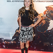 NLD/Amsterdam//20170621 - Premiere Transformers 3D: The Last Knight, Sterre Konings