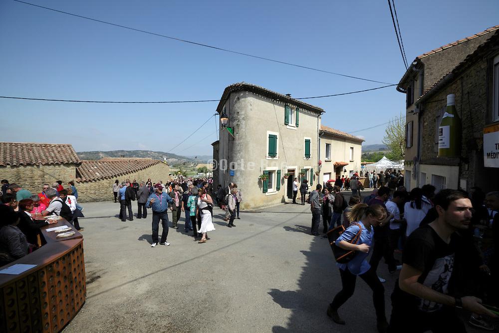 France Aude Tourreilles village party Toques et Clochers 2014