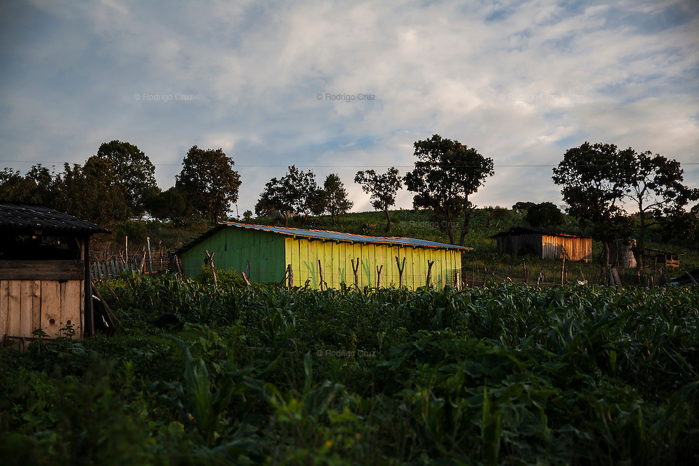 El CALVARIO, MEXICO - AUGUST 5, 2015: View of the community of El Calvario, inhabited by ten families, Mexico.  Rodrigo Cruz for The New York Times