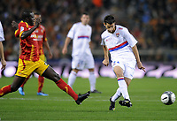 FOOTBALL - FRENCH CHAMPIONSHIP 2009/2010  - L1 - RC LENS v OLYMPIQUE LYONNAIS - 03/10/2009 - <br />
