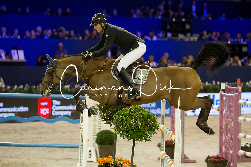 Houtzager Marc, NED, Sterrehofs Calimero<br /> Jumping Amsterdam 2018<br /> © Sharon Vandeput<br /> 26/01/18