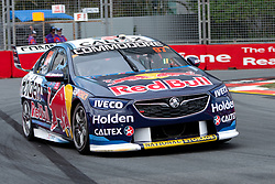 October 19, 2018 - Gold Coast, QLD, U.S. - GOLD COAST, QLD - OCTOBER 19: Earl Bamber in the Red Bull Holden Racing Team Holden Commodore during Friday practice at The 2018 Vodafone Supercar Gold Coast 600 in Queensland on October 19, 2018. (Photo by Speed Media/Icon Sportswire) (Credit Image: © Speed Media/Icon SMI via ZUMA Press)