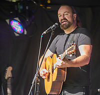 Damian Wilson live at the picnic at the castle,Warwick Castle photo by Brian Jordan