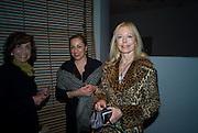EVA KLEIN; ANNA MAHSHY; JANE HARVEY, Anri Sala hosted by Moca and Vanity Fair International.  Museum of Contemporary art. 770 N. 125 St. North Miami.  ART BASEL MIAMI BEACH.  *** Local Caption *** -DO NOT ARCHIVE-© Copyright Photograph by Dafydd Jones. 248 Clapham Rd. London SW9 0PZ. Tel 0207 820 0771. www.dafjones.com.