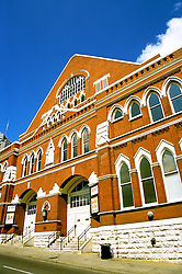 Tennessee: Nashville, Ryman Auditorium, music venue, photo: tnnash104  .Photo copyright Lee Foster, www.fostertravel.com , 510/549-2202, lee@fostertravel.com