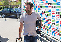 Spanish player Juan Mata arrives to concentration of Spanish football team at Ciudad del Futbol de Las Rozas before the qualifying for the Russia world cup in 2017 August 29, 2016. (ALTERPHOTOS/Rodrigo Jimenez)