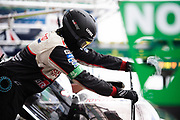 June 10-16, 2019: 24 hours of Le Mans. Toyota Gazoo Racing mechanic