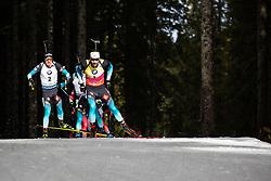 Martin Fourcade (FRA) during theMass Start Men 15 km at day 4 of IBU Biathlon World Cup 2019/20 Pokljuka, on January 23, 2020 in Rudno polje, Pokljuka, Pokljuka, Slovenia. Photo by Peter Podobnik / Sportida
