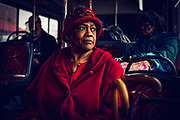 William DeShazer for The New York Times <br /> <br /> NASHVILLE, TN - Delores Gilmore, 72, takes the number 42 metro transit bus from her north end home to the YMCA. Gilmore has been riding the bus over 50 years and is excited for the mass transit system proposed on the May 1st ballot.