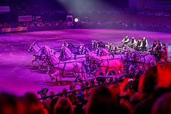 Show, Wurgler Daniel and friends, Dobrovitz Jozsef, Dobrovitz junior, Weinmayer Ludwig<br /> Mercedes Benz CSI Zurich 2018<br /> © Hippo Foto - Katia Stuppia<br /> 27/01/2018
