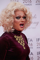 Panti Bliss at the IFTA Film & Drama Awards (The Irish Film & Television Academy) at the Mansion House in Dublin, Ireland, Saturday 9th April 2016. Photographer: Doreen Kennedy