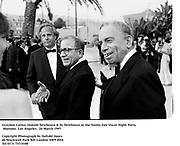 Graydon Carter, Donald Newhouse & Sy Newhouse at the Vanity Fair Oscar Night Party.  Mortons. Los Angeles.  24 March 1997<br />Copyright Photograph by Dafydd Jones<br />66 Stockwell Park Rd. London SW9 0DA<br />Tel 0171 733 0108